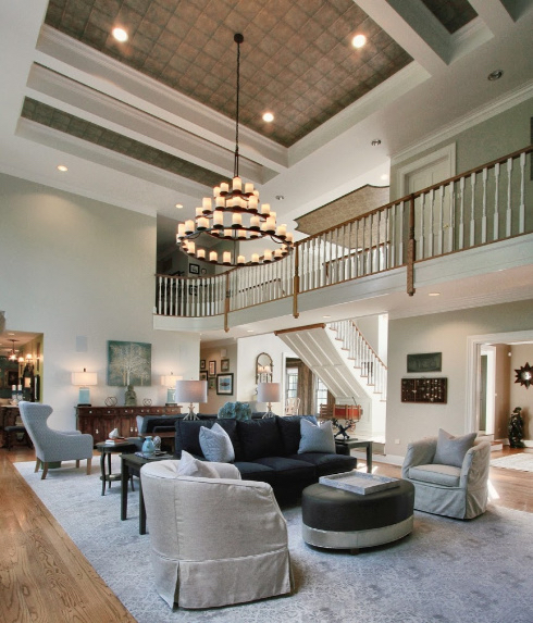 Two-Story living room